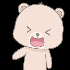 Cute Cream Bear