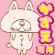 【かずえ】専用・顔がおっさんネコ
