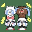RuriPanda & LilyPanda Animated 2