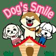 Dog's smile保護犬スタンプ