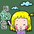 New Cute girl cartoon