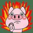 ミニ豚ミニ太のスタンプ3 -敬語もあります-