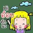 Aoy Cute girl cartoon