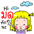 Mod Cute girl cartoon