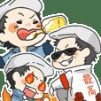 Rowdy mi-yan Sticker
