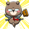 "Working bear ""Hatara-Kuma"""