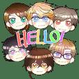 Stromboli Squad Stickers