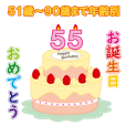 happy birthday sticker cute and useful 2