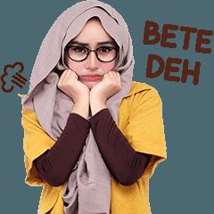 Cithatha: Hijab Girl Glasses