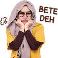 Cithatha: Hijab Girl Glasses
