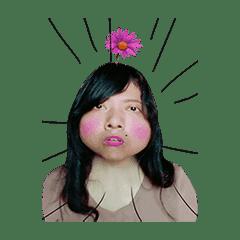 Dancing Flower Head