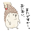 "Hedgehog ""Ohagi""2"