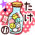 【たけ】専用11.