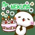 Mr.NEKUMA Stickers by sarala98