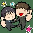 Suit-kun & Gakuran-kun