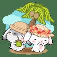 Summer Rabbit on Vacation
