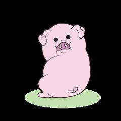 สติ๊กเกอร์ไลน์ Fat Animalss