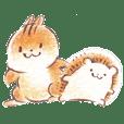 松鼠和刺猬3