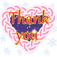 Collection of thank you