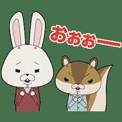 紙兔ROPE 動態貼圖