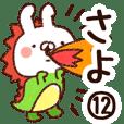【さよ】専用12