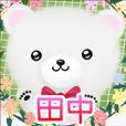 ♪田中さん用♪可愛いクマの名前スタンプ