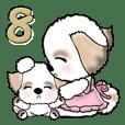 【大きめ文字】お母さんシーズー犬 Vol.8