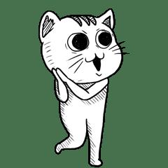 Ugly Tabby Cat V.002