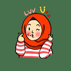 hijab cute (tien)