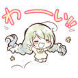 seven days kawaii stickers