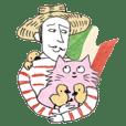 Pink Lulu's Italian Sticker