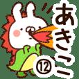 【あきこ】専用12