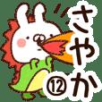 【さやか】専用12