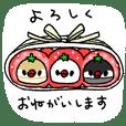 strawberry birds