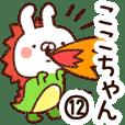 【ここちゃん】専用12