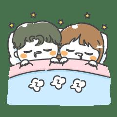 Lovely Couple Sticker!