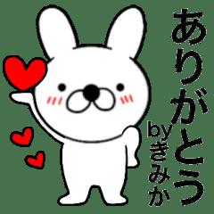 Name rabbit Kimika