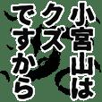 小宮山さん名前ナレーション
