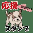 応援・励ましの言葉【かわいい子犬】