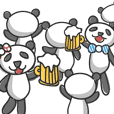 Mr. & Mrs. Ribbon Panda