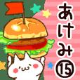 【あけみ】専用15