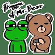 Froggie & Mr.Bear
