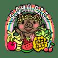 【ハワイアン】ご機嫌な豚