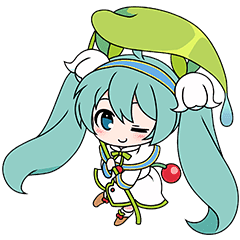 Hatsune Miku Snow Miku Collection Line Stickers Line Store