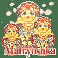 cantik sekali Boneka Rusia(new)