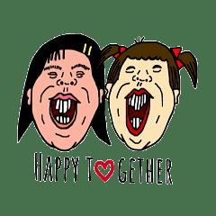 矮莉莎和憨吉拉登場囉-亂入生活1