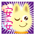 Bunny love greeting