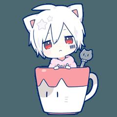 Mafumafu Sticker (cat) vol.2