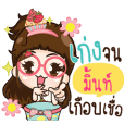 MINT Cupcakes cute girl