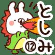 【としみ】専用12
